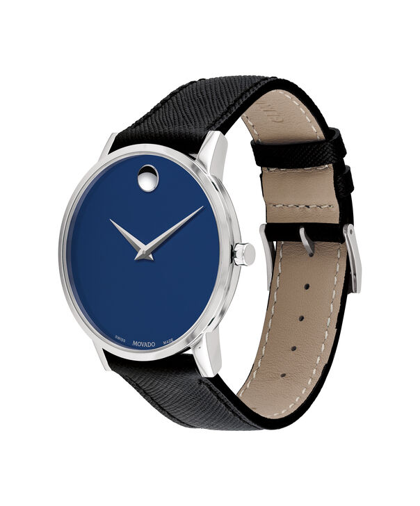 MOVADO Museum Classic0607197 – Men's 40 mm strap watch - Side view