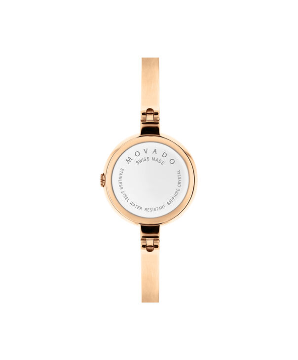 MOVADO Bela0607082 – Women's 25 mm bangle watch - Back view