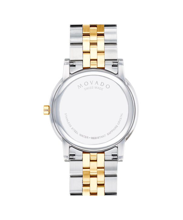 MOVADO Museum Classic0607202 – Men's 40 mm bracelet watch - Back view