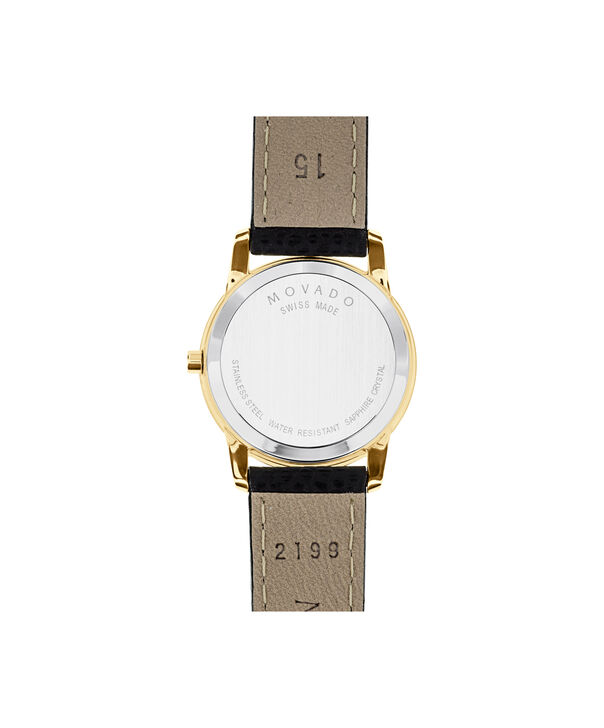 MOVADO Museum Classic0607016 – Women's 28 mm strap watch - Back view