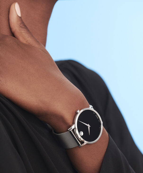 MOVADO Museum Classic0607219 – Men's 40 mm bracelet watch - Other view