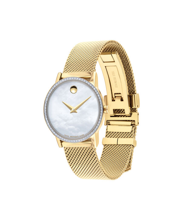 MOVADO Museum Classic0607307 – Women's 28 mm mesh bracelet watch - Side view