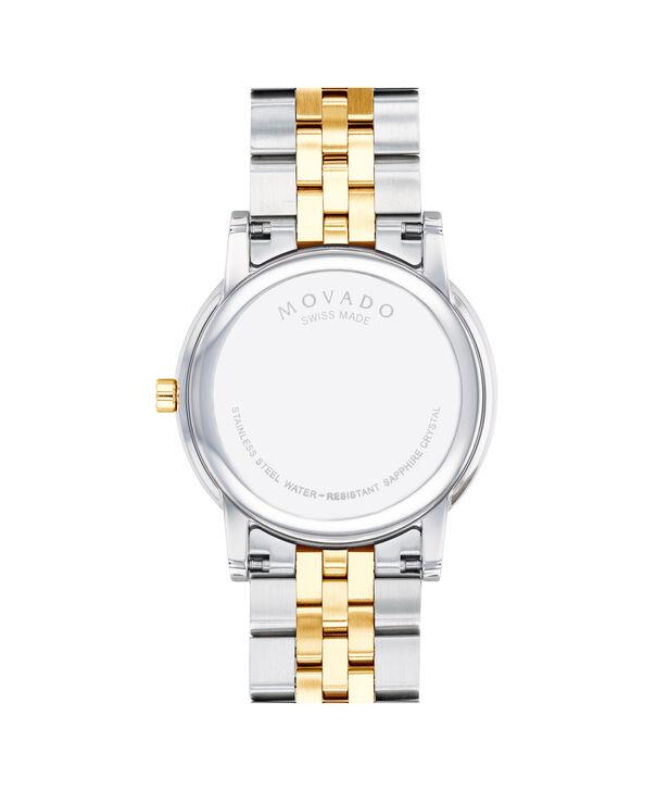 MOVADO Museum Classic0607200 – Men's 40 mm bracelet watch - Back view