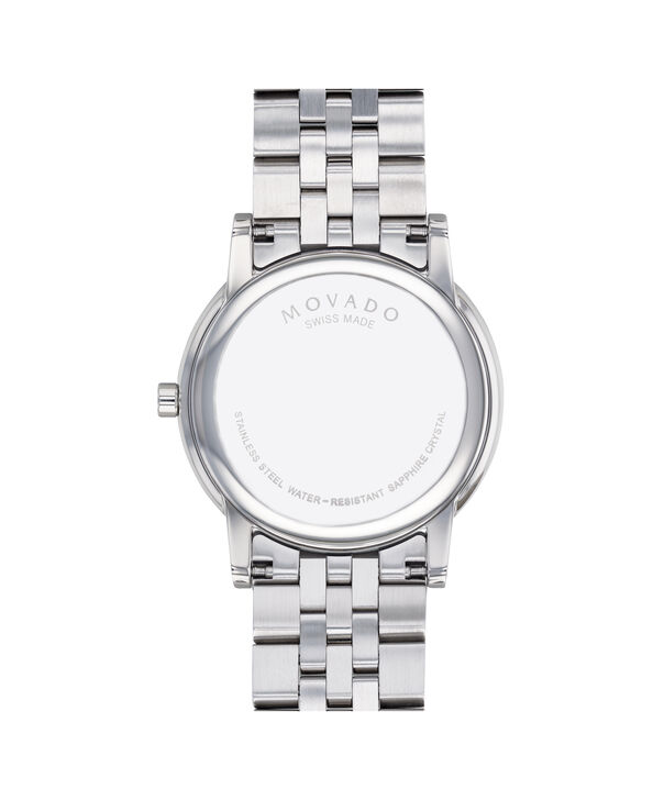 MOVADO Museum Classic0607199 – Men's 40 mm bracelet watch - Back view