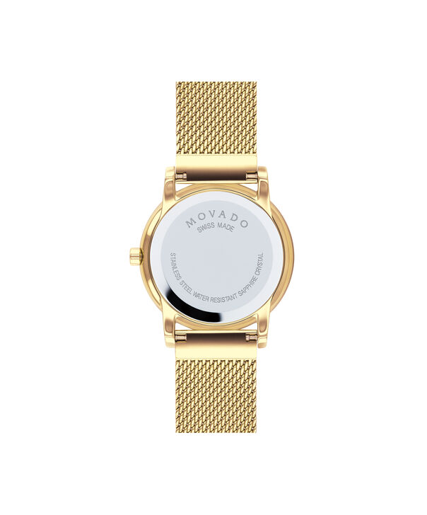 MOVADO Museum Classic0607307 – Women's 28 mm mesh bracelet watch - Back view